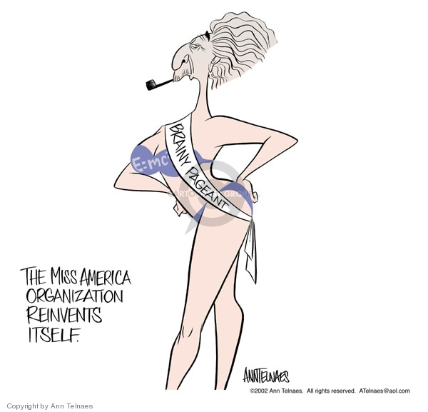 Ann Telnaes  Ann Telnaes' Editorial Cartoons 2002-09-22 American