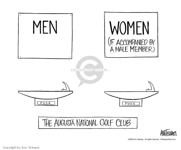 Ann Telnaes  Ann Telnaes' Editorial Cartoons 2002-10-01 male