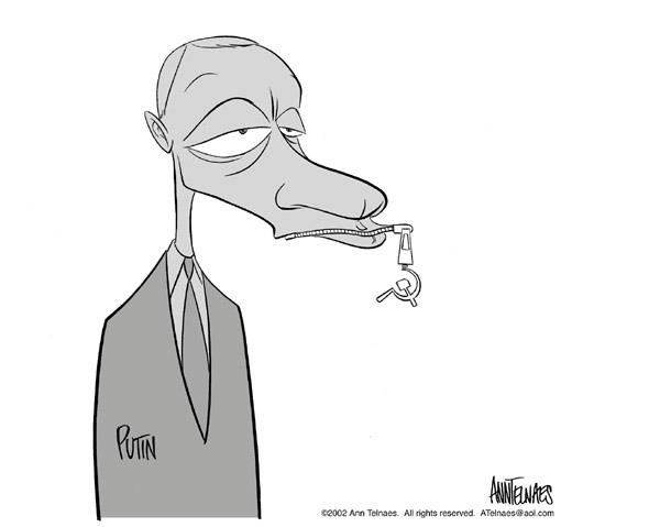 Ann Telnaes  Ann Telnaes' Editorial Cartoons 2002-10-28 media freedom