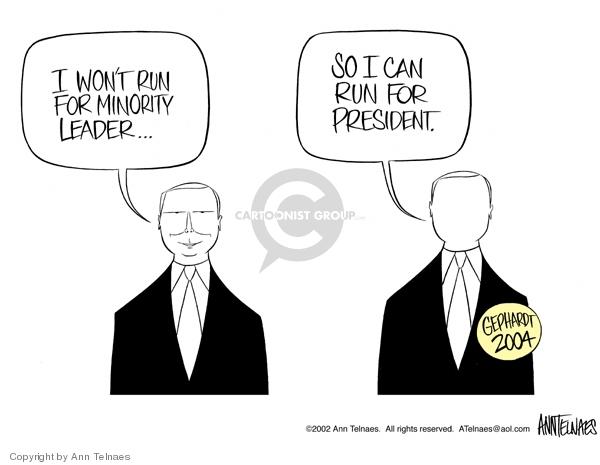 Cartoonist Ann Telnaes  Ann Telnaes' Editorial Cartoons 2002-11-10 majority