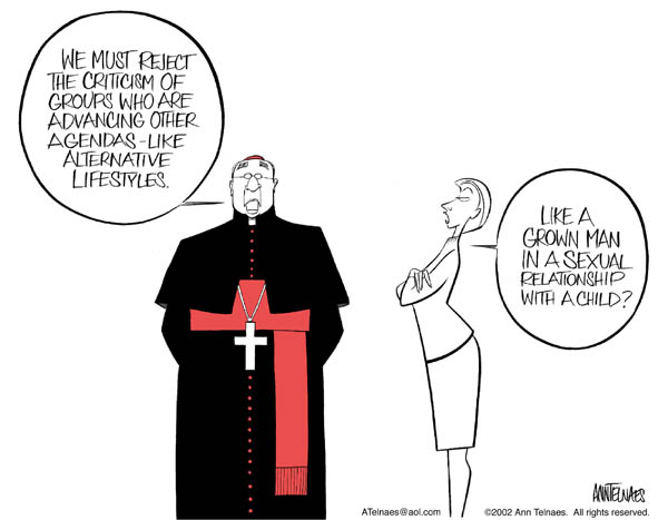 Ann Telnaes  Ann Telnaes' Editorial Cartoons 2002-11-20 reject