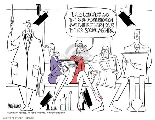 Ann Telnaes  Ann Telnaes' Editorial Cartoons 2002-11-26 invasion