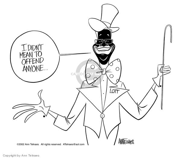 Cartoonist Ann Telnaes  Ann Telnaes' Editorial Cartoons 2002-12-11 senate