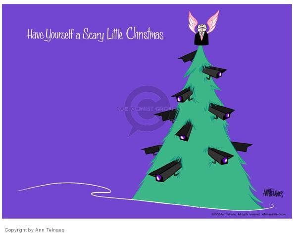 Cartoonist Ann Telnaes  Ann Telnaes' Editorial Cartoons 2002-12-24 Christmas