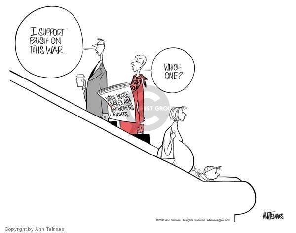 Ann Telnaes  Ann Telnaes' Editorial Cartoons 2003-01-14 support
