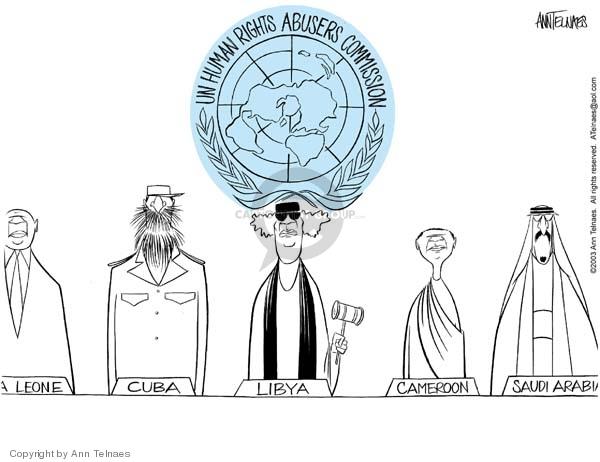 Ann Telnaes  Ann Telnaes' Editorial Cartoons 2003-01-22 civil liberty