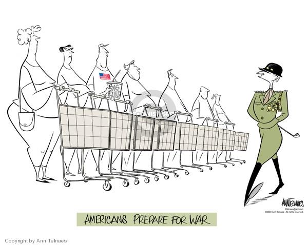 Ann Telnaes  Ann Telnaes' Editorial Cartoons 2003-01-30 Iraq
