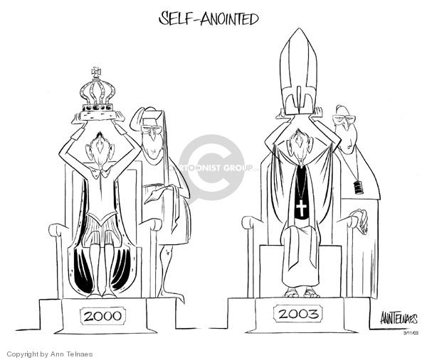 Ann Telnaes  Ann Telnaes' Editorial Cartoons 2003-03-11 court