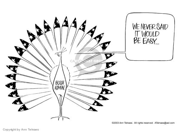 Ann Telnaes  Ann Telnaes' Editorial Cartoons 2003-03-28 admin