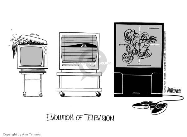 Evolution of television.