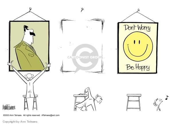 Ann Telnaes  Ann Telnaes' Editorial Cartoons 2003-04-05 dictator
