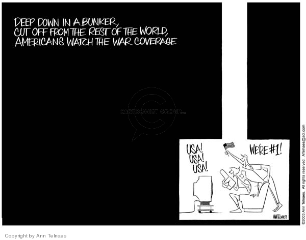 Ann Telnaes  Ann Telnaes' Editorial Cartoons 2003-04-08 Iraq