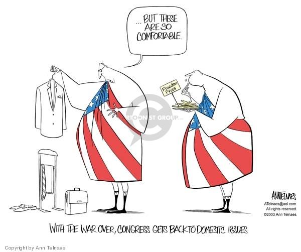 Ann Telnaes  Ann Telnaes' Editorial Cartoons 2003-05-01 Iraq