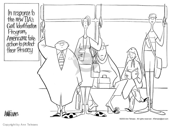 Ann Telnaes  Ann Telnaes' Editorial Cartoons 2003-05-22 clothing