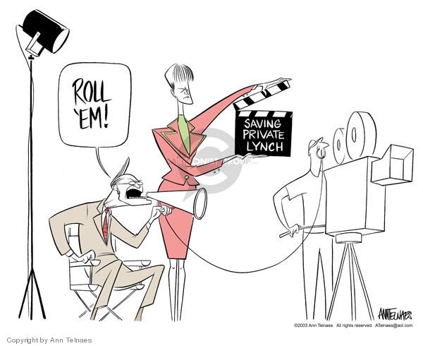 Ann Telnaes  Ann Telnaes' Editorial Cartoons 2003-05-27 Iraq