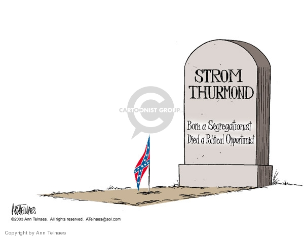 Ann Telnaes  Ann Telnaes' Editorial Cartoons 2003-06-29 civil rights