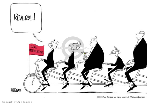 Ann Telnaes  Ann Telnaes' Editorial Cartoons 2003-07-09 Iraq