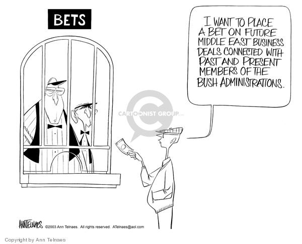 Cartoonist Ann Telnaes  Ann Telnaes' Editorial Cartoons 2003-07-29 unethical