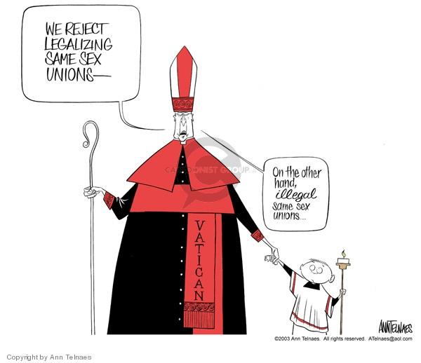 Ann Telnaes  Ann Telnaes' Editorial Cartoons 2003-07-30 illegal
