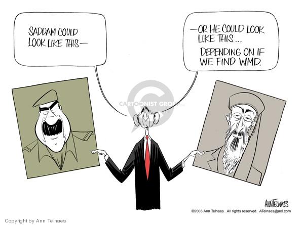 Ann Telnaes  Ann Telnaes' Editorial Cartoons 2003-08-05 Iraq
