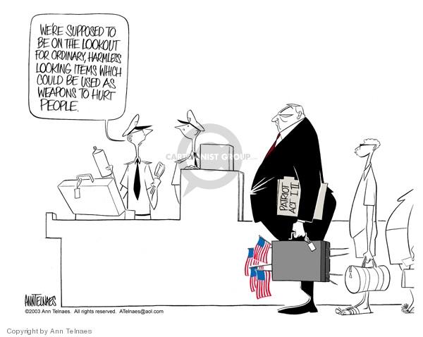 Ann Telnaes  Ann Telnaes' Editorial Cartoons 2003-08-08 could