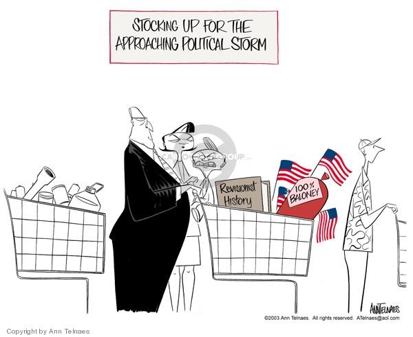 Ann Telnaes  Ann Telnaes' Editorial Cartoons 2003-09-16 Dick Cheney