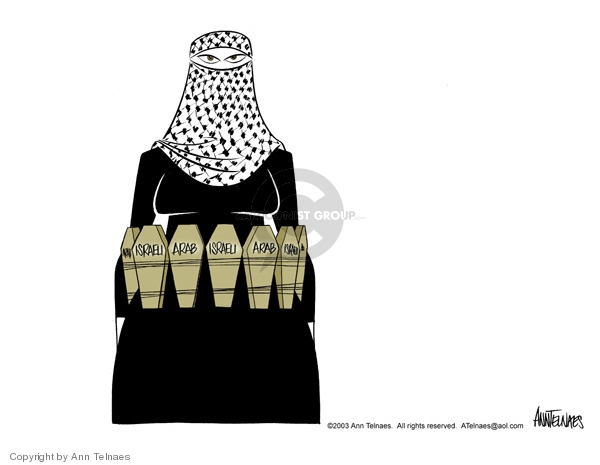 Ann Telnaes  Ann Telnaes' Editorial Cartoons 2003-10-04 Israel