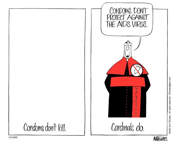 Ann Telnaes  Ann Telnaes' Editorial Cartoons 2003-10-12 belief