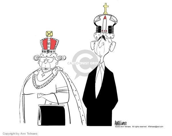 Ann Telnaes  Ann Telnaes' Editorial Cartoons 2003-11-19 royalty