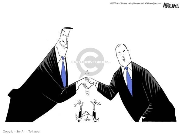 Ann Telnaes  Ann Telnaes' Editorial Cartoons 2003-12-10 2004 election