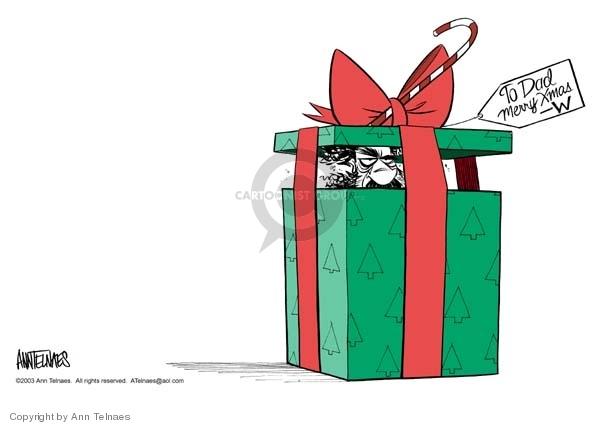Ann Telnaes  Ann Telnaes' Editorial Cartoons 2003-12-14 junior