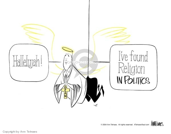 Ann Telnaes  Ann Telnaes' Editorial Cartoons 2004-01-05 state