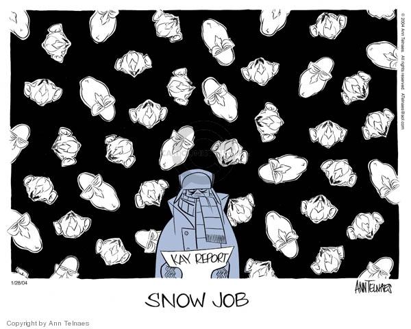 Ann Telnaes  Ann Telnaes' Editorial Cartoons 2004-01-28 George W. Bush