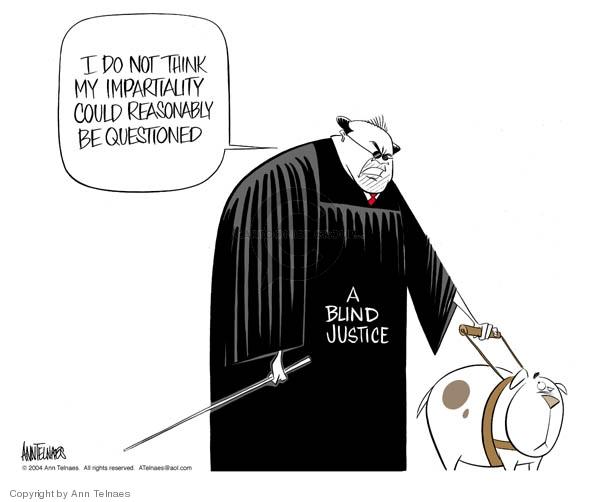 Ann Telnaes  Ann Telnaes' Editorial Cartoons 2004-02-10 judgment