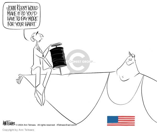 Ann Telnaes  Ann Telnaes' Editorial Cartoons 2004-03-30 George W. Bush