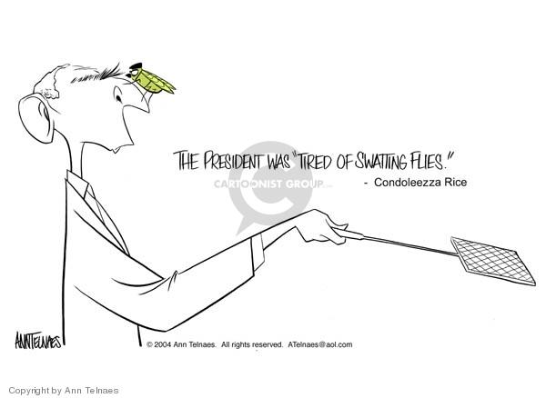 Ann Telnaes  Ann Telnaes' Editorial Cartoons 2004-04-08 nose