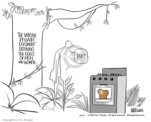 Ann Telnaes  Ann Telnaes' Editorial Cartoons 2004-08-02 male