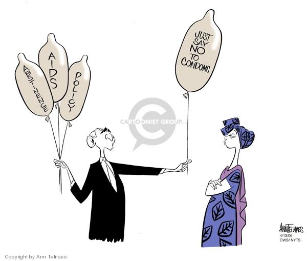 Ann Telnaes  Ann Telnaes' Editorial Cartoons 2006-04-13 Africa