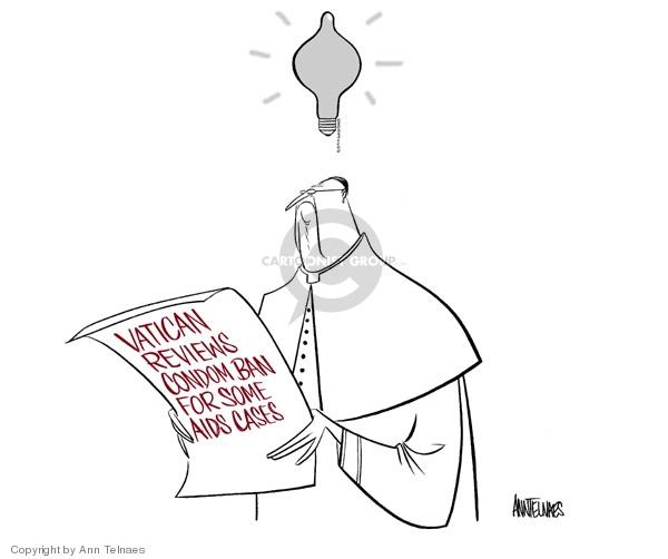 Ann Telnaes  Ann Telnaes' Editorial Cartoons 2006-05-03 pope