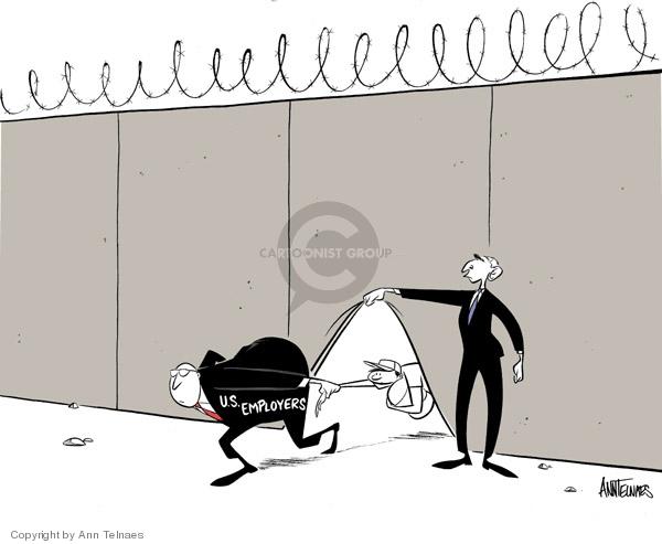 Ann Telnaes  Ann Telnaes' Editorial Cartoons 2006-05-17 illegal