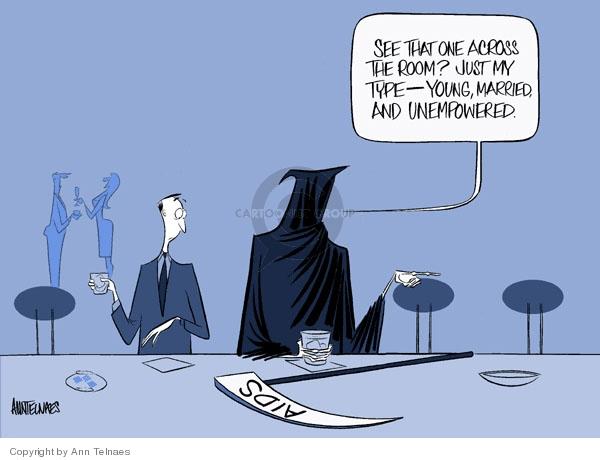Ann Telnaes  Ann Telnaes' Editorial Cartoons 2006-06-05 grim reaper