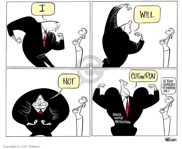 Cartoonist Ann Telnaes  Ann Telnaes' Editorial Cartoons 2006-06-18 international conflict