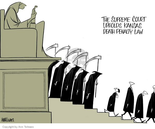 Ann Telnaes  Ann Telnaes' Editorial Cartoons 2006-06-28 court