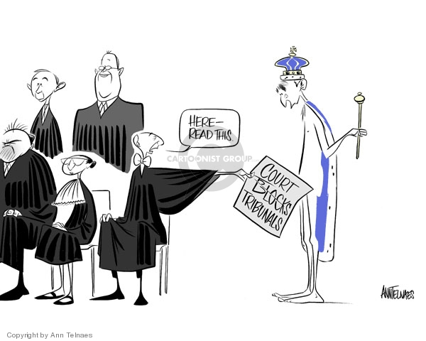 Ann Telnaes  Ann Telnaes' Editorial Cartoons 2006-07-01 Anthony Kennedy