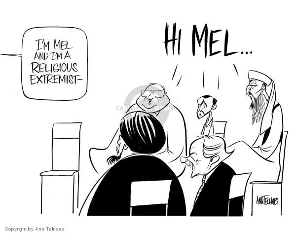 Ann Telnaes  Ann Telnaes' Editorial Cartoons 2006-08-03 Jewish