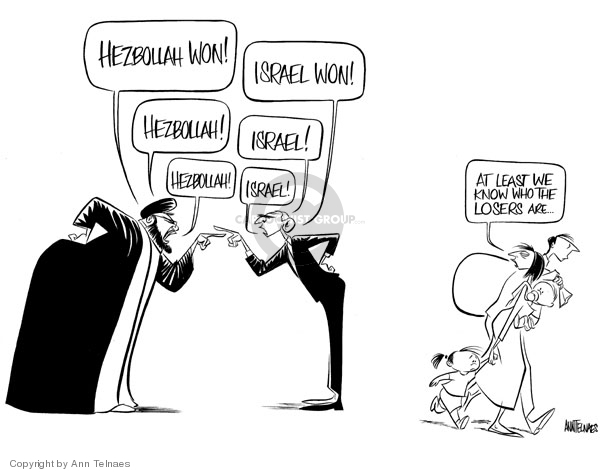 Ann Telnaes  Ann Telnaes' Editorial Cartoons 2006-08-16 nation