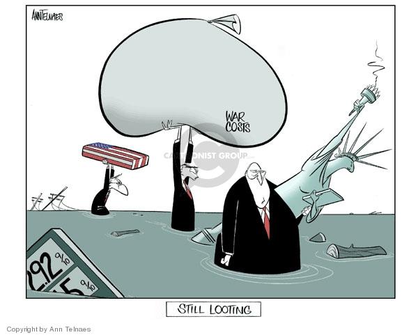 Ann Telnaes  Ann Telnaes' Editorial Cartoons 2006-08-28 oil cost