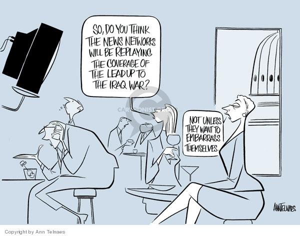 Cartoonist Ann Telnaes  Ann Telnaes' Editorial Cartoons 2006-09-14 network
