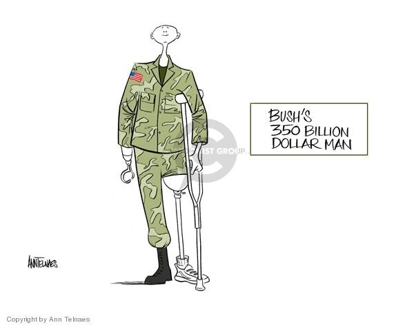 Ann Telnaes  Ann Telnaes' Editorial Cartoons 2006-10-15 dollar