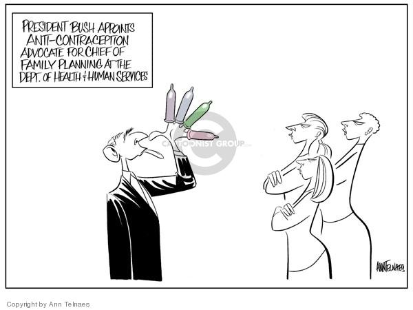 Ann Telnaes  Ann Telnaes' Editorial Cartoons 2006-11-22 family